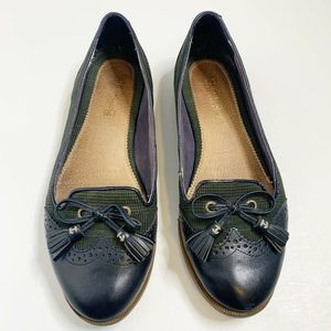 Sperry Plaid Loafer Flats Size 6.5